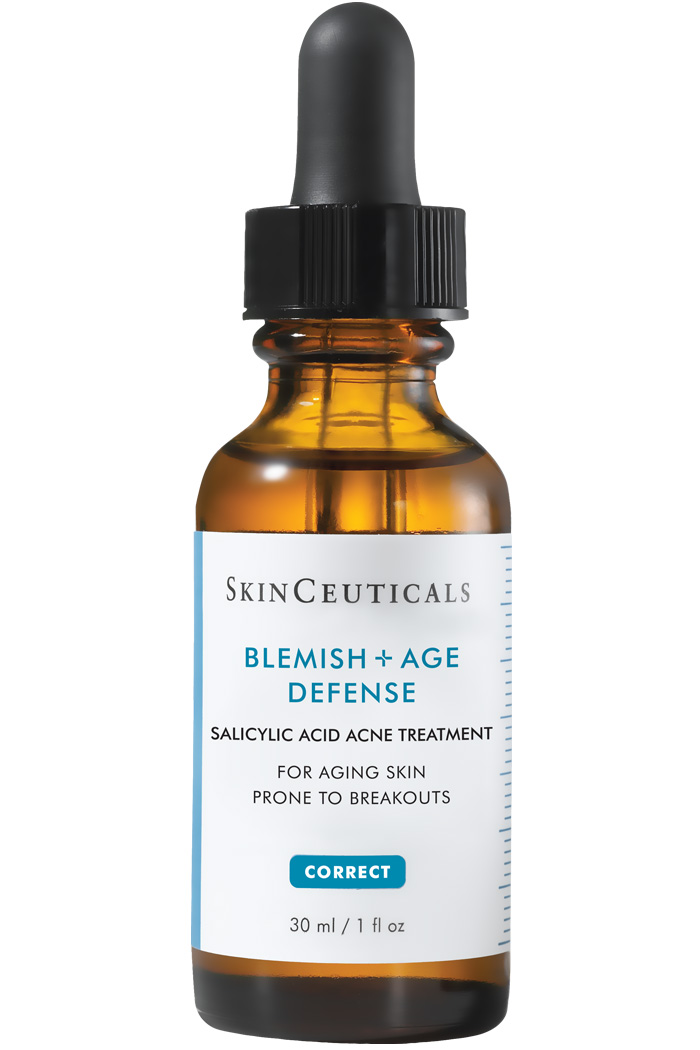 Salicylic acid acne treatment.
