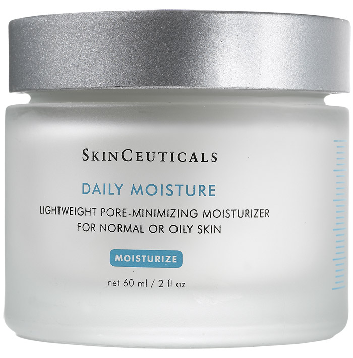 Pore-minimizing moisturizer for normal or oily skin