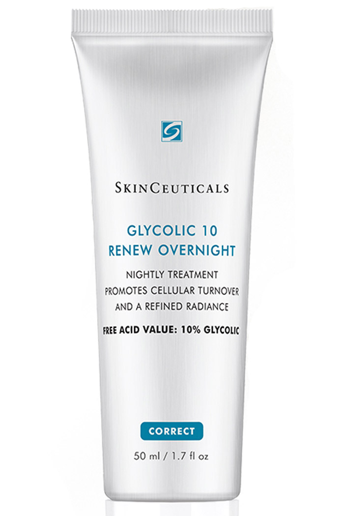 Nighttime corrective cream for promoting cellular turnover