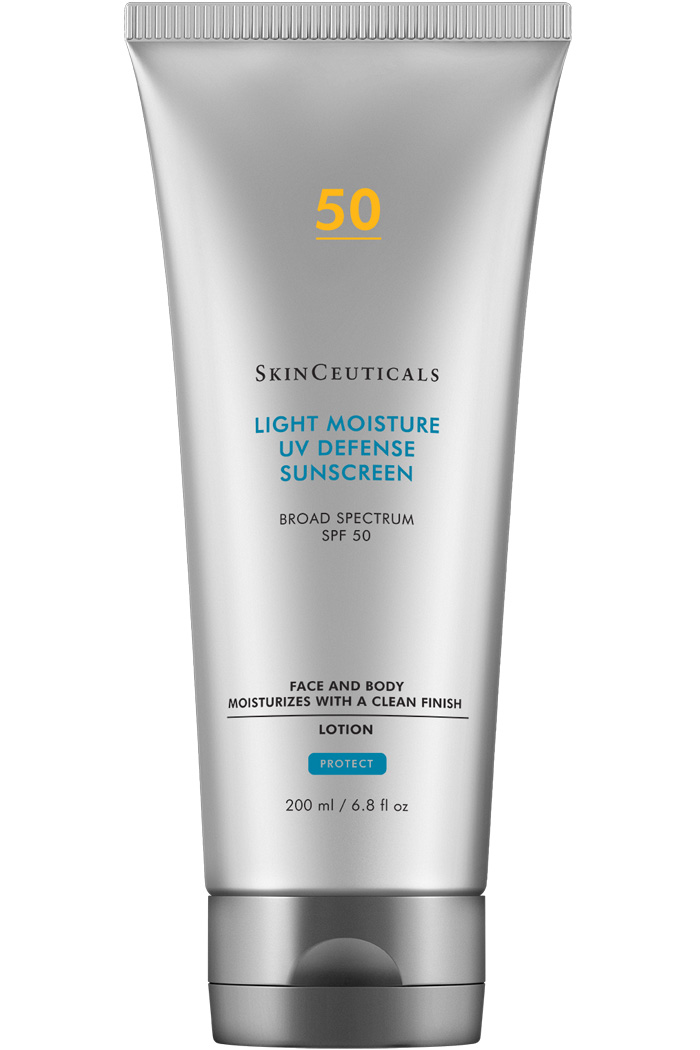 Moisturizing, oil-free broad spectrum sunscreen for the face and body