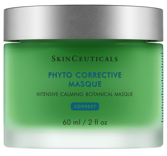 Intensive calming botanical masque.