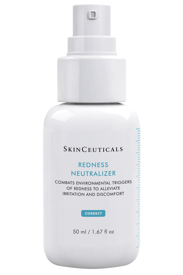Combats environmental triggers of redness to alleviate irritation and discomfort