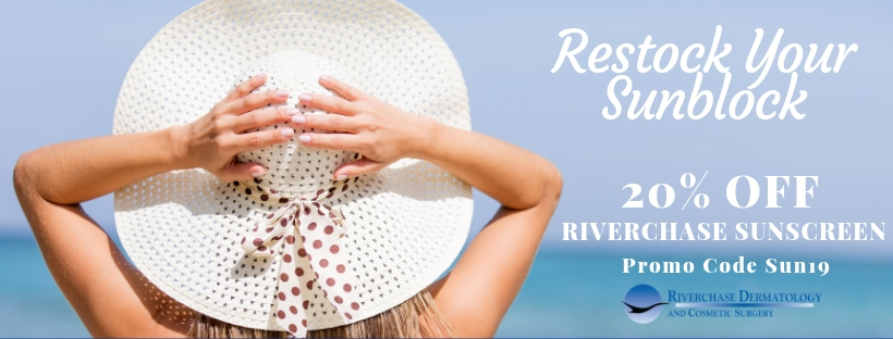 Riverchase sunscreen promotion